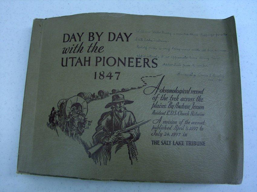 PIONEER PATHWAYS VOLUME 3 DAUGHTERS OF UTAH PIONEERS 2000 1STED LDS MORMON HB